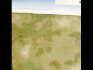 1000D nylon oxford vandtæt camouflage PU belagt stof