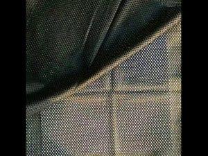 160gsm polyester warp strikket net mesh stof til militær vest