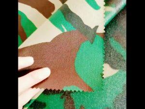 600D polyester oxford 100 polyester hær taktisk vest stof