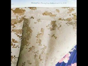 930D vandtæt camouflageprintet PU-belagt nylonoxford stof