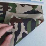 Camouflage mønster 80/20 bomuld polyester twill stof til militær uniform
