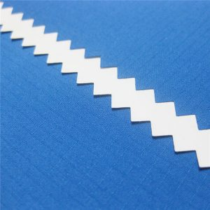 100% polyester dobby gitter jacquard pongee stof med vandtæt pu belagt til jakke eller sportstøj