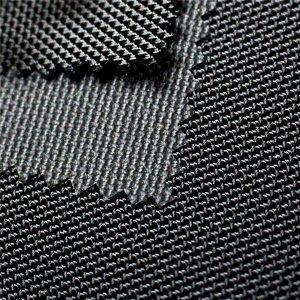 1680D twill jacquard polyester oxford stof med PU overtrukket tekstil til poser