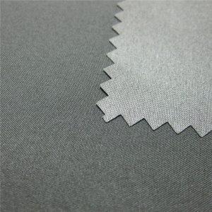 100% Polyester Pongee Coated Vandtæt Udendørs Down Jacket Fabric