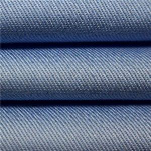 100% bomuld twill carded farvet stof ensartet arbejdstøj beklædningsgenstande stof