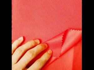 Kina stof marked engros 100% polyester oxford pu stof til telt rygsæk