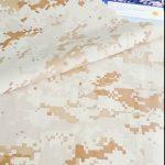 Kvalitets camouflage mønster 100% nylon stof militær brug sikkerhed